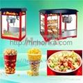 HonKA popcorn making machine processing