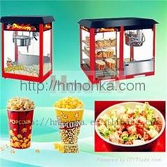 HonKA popcorn making machine processing popper