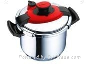 Stainless steel pressure cooker 8.0L capacity