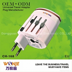 international superior quality travel adapter plug and sockets