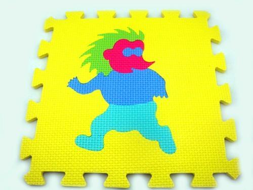 数字拼图地垫_橡塑胶防滑地垫_EVA泡沫儿童数字安全地垫 1