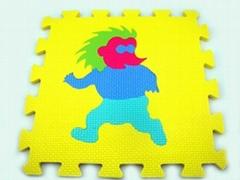 数字拼图地垫_橡塑胶防滑地垫_EVA泡沫儿童数字安全地垫