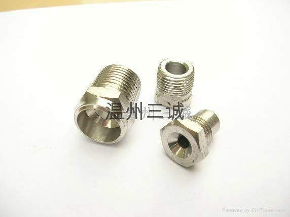 三通接頭軟管非標準緊固件溫州三誠定做批發價 5