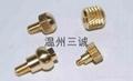 三誠精密銅套非標打孔螺栓冷墩