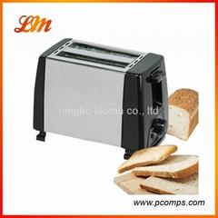 Stainless steel 2 slice toaster