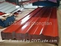Ga  alume Corrugating Sheet for roofing material