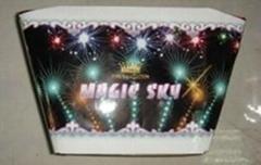 100S fan cakes fireworks