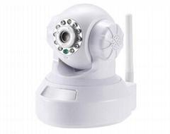 High Resolution 30m Ir Distance Color CMOS 720P IR Dome IP Camera