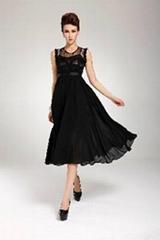 New Hot Bohemia Maxi Women Chic Lace Chiffon Long Gown Evening Party Dress