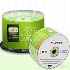 Blank CD-R 700MB 80MIN 52X