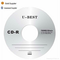 Gold supplier of blank CD-R grade A