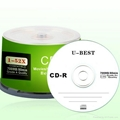 Gold supplier of blank CD-R grade A 2