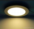 LED Panel 18W round cool white