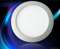 LED Panel round 18W warm white with DALI dimmable and emergency