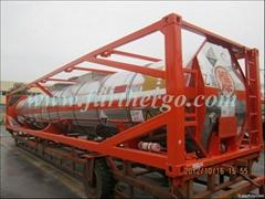 40ft ISO Tank Container (hydrogen peroxide,UN,glycol,swap body,liquid sodium)