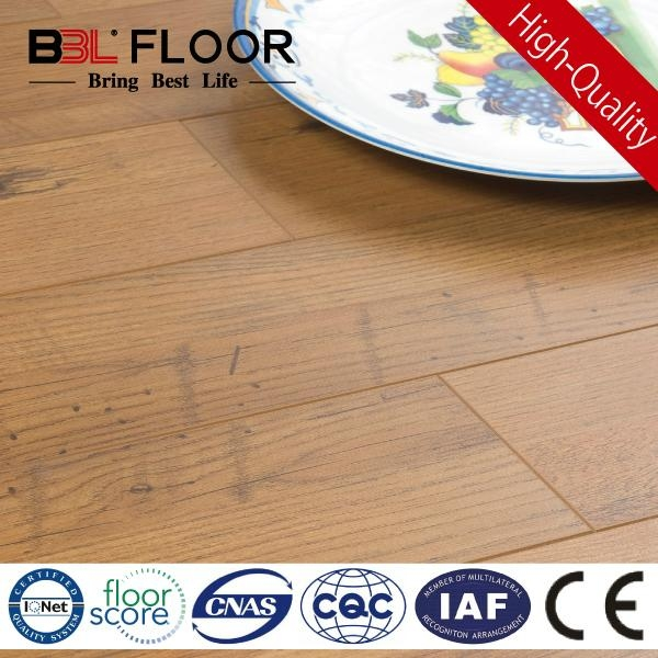 12mm thickness AC3 abrasion middle embossed composite flooring 8802 1