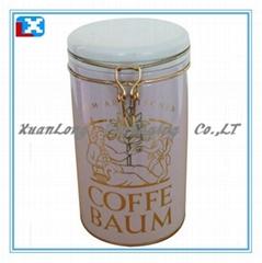 Airtight Coffee Tin Can