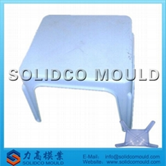 plastic outdoor table injection mould