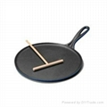 Wooden Crepe&Spatula for pan cake 2