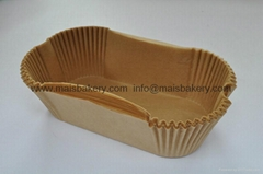 brown cake liner pizza box food packaging cupcake liner