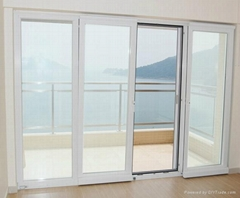 65 series of sliding and tilting aluminum door