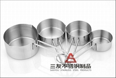 Stainless Steel Measuring Spoon Set (SY-202)