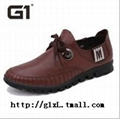 G1商务休闲皮鞋