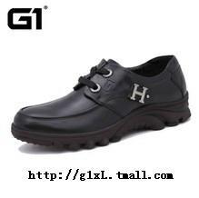 2013新款G1休闲鞋男鞋 潮流韩版英伦板鞋 正品手工结婚皮鞋