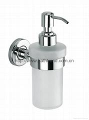 glass bottle soap dispenser bathroom liquid dispensers