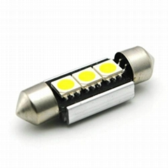 CANBUS 39MM festoon 3SMD5050 error free auto led light