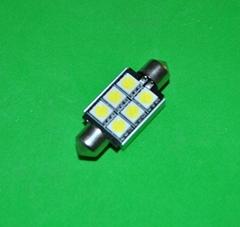 CANBUS 39MM festoon 6SMD5050 error free auto led light