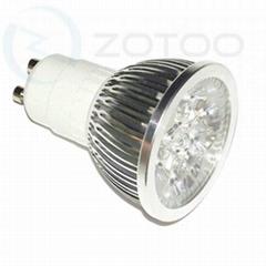 GU10 / MR16 4W led spotlight Epistar LED