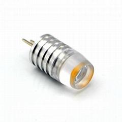 G4 bi pin 1W high power with lens 12V DC husehold led lights