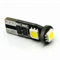 CANBUS T10 base 3SMD5050 error free auto led light