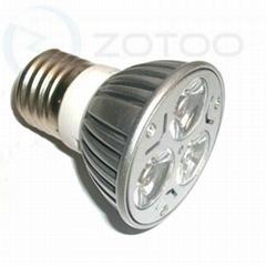 E27/GU10/MR16/E14 3*1W led spot light household led light