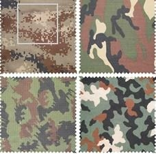 Aramid camouflage fabric