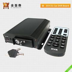 2 Channel DVR Global Released Full D1 32GB GPS Car DVR