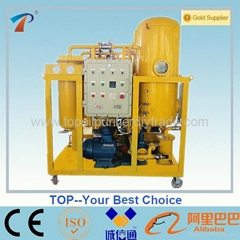 Turbine Oil Purifier Emulsive Oil Processor Used Turbine Oil Recycling MachineTY