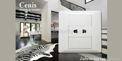 Wall Switches Wall Socket US Socket Zebra Series