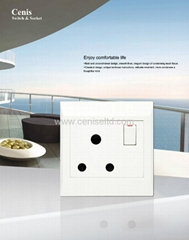Advanced Wall Switches Socket EU Socket Lavie Series