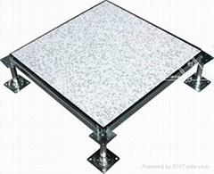 PVC貼面全鋼防靜電活動地板