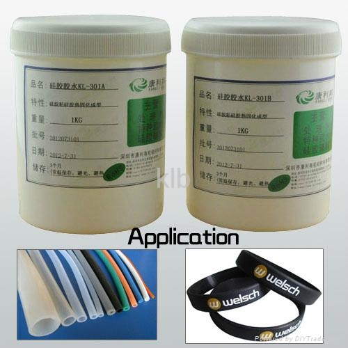 Silicone heat-set adhesive high temperature adhesive  1