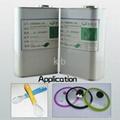 Silicone adhesive for platinum cured silicone liquid silicone adhesive 2