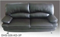 Leather sofa DHS-356