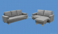 grey fabric sectional sofa DHS-1316
