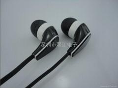 耳机 面条耳机 伸缩耳机 金属耳机