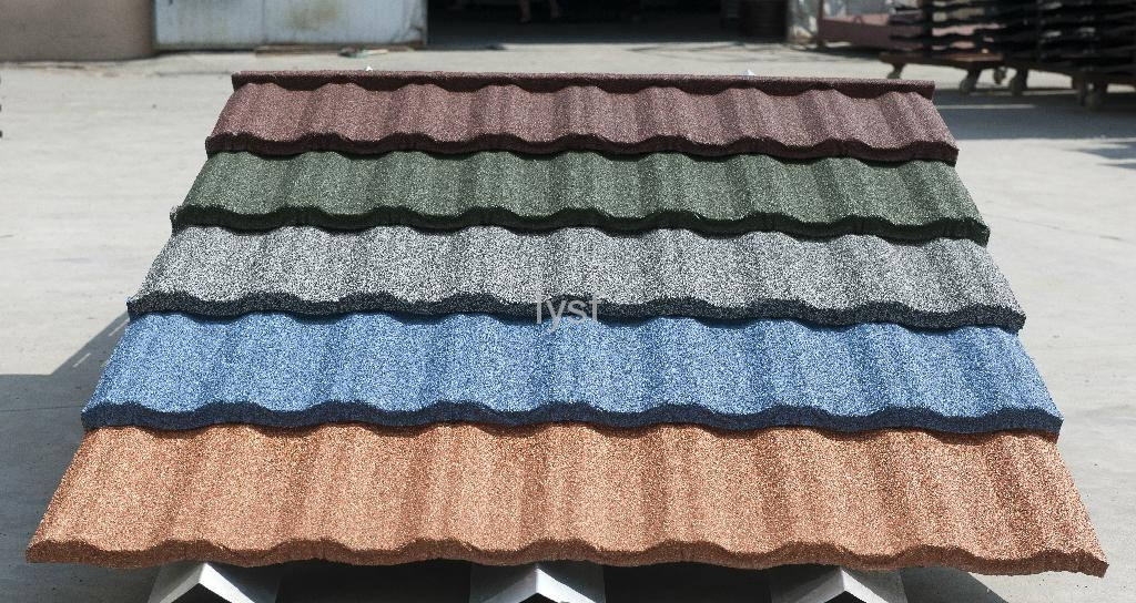 Stone Coated Steel Roofing Tile Traditional Tile Zj03