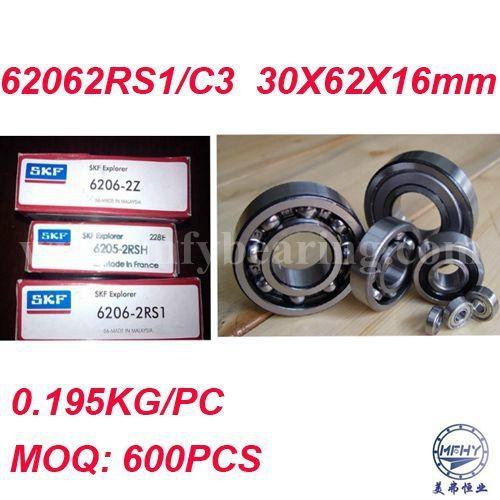 SKF 6312 2RS1//C3 Deep Groove Ball Bearing