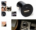 Mini 0.5A/1A/2.1A 12-24V USB Car Charger Designed For Apple Samsung  3