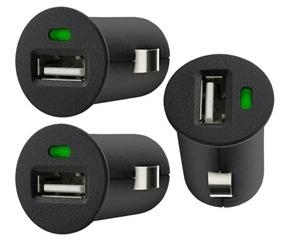 Mini 0.5A/1A/2.1A 12-24V USB Car Charger Designed For Apple Samsung  4